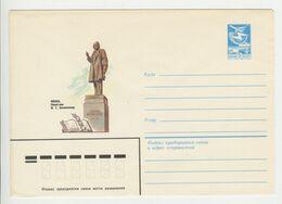 URSS , 1986 , Penza , Monument Of Belinski , Pre-paid Envelope - Storia Postale