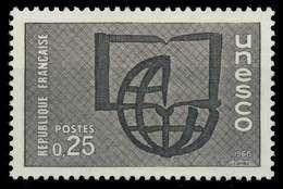 FRANKREICH DIENSTMARKEN FÜR DIE UNESCO Nr 6 Postfrisch X071A0E - Nuevos
