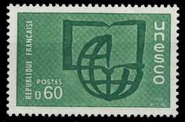 FRANKREICH DIENSTMARKEN FÜR DIE UNESCO Nr 8 Postfrisch X071A26 - Nuevos