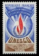 FRANKREICH DIENSTMARKEN FÜR DIE UNESCO Nr 12 Postfrisch X071A56 - Nuevos