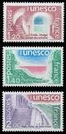 FRANKREICH DIENSTMARKEN FÜR DIE UNESCO Nr 21-23 X075A3A - Nuevos