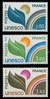 FRANKREICH DIENSTMARKEN FÜR DIE UNESCO Nr 16-18 X075AAA - Nuevos