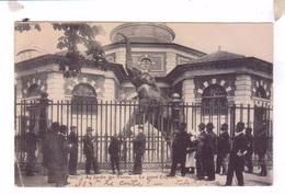 75 PARIS Jardin Des Plantes Zoo Le Grand Elephant 1906 - Parks, Gardens