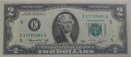 "USA - United States Of America- 2 Dollars 1976 ""E"" Declaration Of Independence UNC - Biljetten Van De  Federal Reserve (1928-...)"
