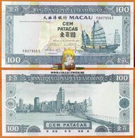 Macau 100 Patacas 2003 UNC - Macau