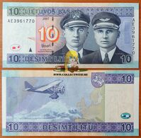 Lithuania 10 Litas 2007 UNC P-68 - Lithuania