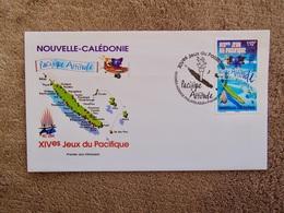 FDC : XIVemes JEUX Du PACIFIQUE / Pacifique Attitude - Covers & Documents