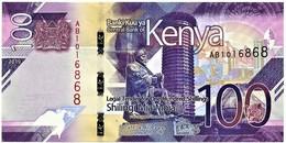 Kenya - 100 Shillings - 2019 - Pick New - Serie AB - Unc. - Kenia
