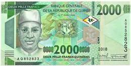 Sierra Leone - 2000 Leones - 2018 - Pick New - Serie AQ - 2 000 - Sierra Leone