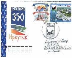 (N 40) Russia To Australia Cover With Stamps (2011) - 1992-.... Federation
