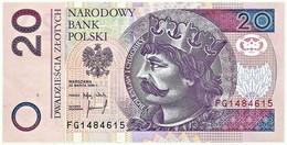 Poland - 20 Zlotych - 25.03.1994 ( 1995 ) - Pick: 174.a - Serie: FG - Poland