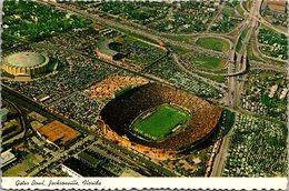 Florida Jacksonville Sports Complex Gator Bowl Football Stadium Aerial View - Jacksonville