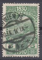Austria 1910 Jubilee Mi#164 Used - Usados