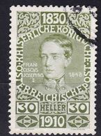 Austria 1910 Jubilee Mi#170 Used - Gebraucht