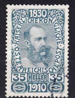 Austria 1910 Jubilee Mi#171 Used - Usados