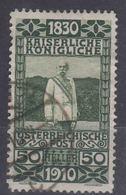 Austria 1910 Jubilee Mi#172 Used - Usados