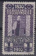 Austria 1910 Jubilee Mi#174 Used - Usados