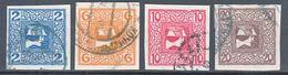 Austria 1908 Zeitungs Newspaper Stamps Mi#157-160 Used - Usados