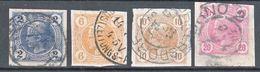 Austria 1899 Zeitungs Newspaper Stamps Mi#97-100 Used - Usados