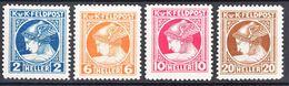 Austria Feldpost 1916 Mi#49-52 Mint Hinged - Unused Stamps