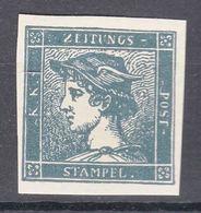 Austria 1851 Zeitungs Newspaper Stamps Mi#6 Neudruck - Gebraucht