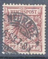 Germany Deutsches Reich 1889 Mi#50 Used - Usados