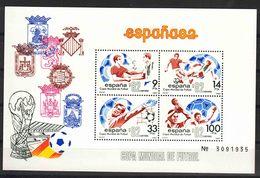 Spain 1982 Football World Cup Mi#26 Mint Never Hinged - 1931-Aujourd'hui: II. République - ....Juan Carlos I