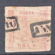 Italy States, Napoli Naples 1858 Mi#2 Used - Naples