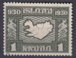 Iceland Island Ijsland 1930 Mi#136 Mint Hinged - 1918-1944 Autonomous Administration
