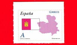 Nuovo - MNH - SPAGNA - 2010 - Comunità Autonome - Castilla La Mancha - Bandiera - Mappa - A - 2001-10 Neufs