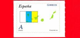 Nuovo - MNH - SPAGNA - 2010 - Comunità Autonome - Isole Canarie - Canarias - Bandiera - Mappa - A - 2001-10 Neufs