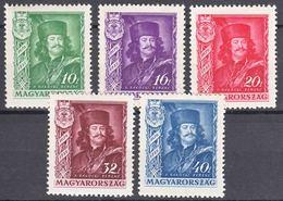 Hungary 1935 Mi#517-521 Mint Never Hinged - Neufs