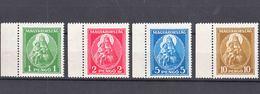 Hungary 1932 Madonna Mi#484-487 Mint Never Hinged, Last Stamp Lightly Folded - Neufs