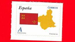 Nuovo - MNH - SPAGNA - 2010 - Comunità Autonome - Murcia - Bandiera - Mappa - A - 2001-10 Neufs