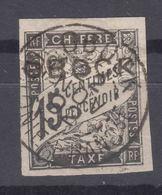 Obock 1892 Timbre Taxe Yvert#11 Used - Oblitérés