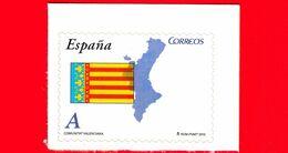 Nuovo - MNH - SPAGNA - 2010 - Comunità Autonome - Valencia - Bandiera - Mappa - A - 2001-10 Neufs