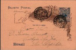 ! 1898 Ganzsache Aus Brasilien, Brazil, Postal Stationary - Entiers Postaux