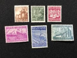 1948.MH.  L'Exportation Belge,valeurs Et Couleurs Modifiées! T.B ! - 1948 Export