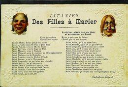 CPA   Filles à Marier - Marriages