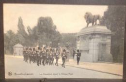 JFC. 163. Bruxelles Laeken. Les Grenadiers Devant Le Château Royal - Laeken