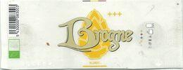 étiquette Décollée Bière Brogne Blonde Brasserie ? - Beer