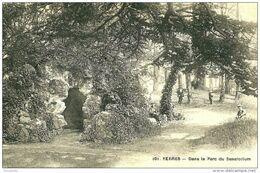 Yerres. Curistes Dans Le Parc Du Sanatorium. - Yerres