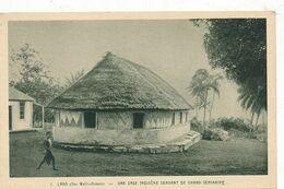 CPA  ( Religion) - 32566-Lano ( Wallis Et Futuna) - Grand Séminaire Sous Case Indigène-Envoi Gratuit - Wallis And Futuna