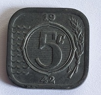 Netherlands 5 Cents 1942 - 5 Cent