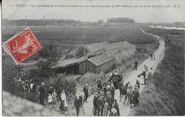 TOURS : Vue D'ensemble De La  Cabane Bambou Où A Eu Lieu L'assassinat De Mme Deblais Nuit Du 28 Au 29 Juillet 1908 - Tours