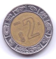 MEXICO 1996: 2 Pesos, KM 604 - Mexico