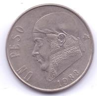 MEXICO 1983: 1 Peso, KM 460 - Mexico