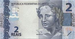 Brazil 2 Reais (P252d) 2010 Sign 46 -UNC- - Brasile