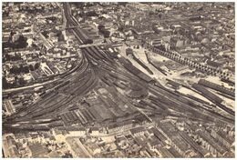 1952 - Iconographie - Nancy (Meurthe-et-Moselle) - Vue Aérienne De La Gare - PRÉVOIR FRAIS DE PORT - Unclassified