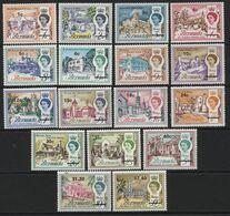 Bermuda(01) 1970 Decimal Currency Set. Mint. Hinged. - Bermuda